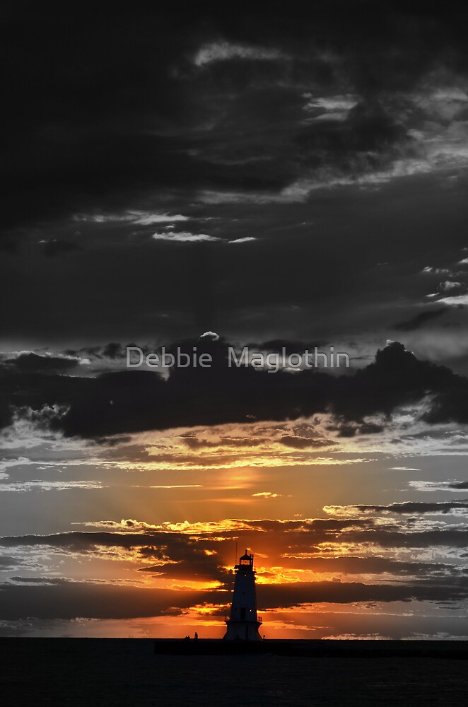Lighthouse 8 by Debbie  Maglothin