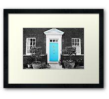 Blue Door, Tower of London Framed Print