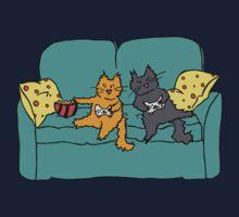 Gamer Cats One Piece - Short Sleeve