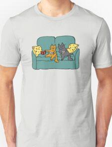 Gamer Cats Unisex T-Shirt