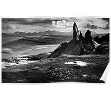 The Old Man of Storr (mono) Poster