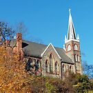 St. Peter's Roman Catholic Church in Harpers Ferry, West Virginia  by Bine