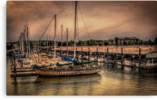 Old Schooner by Steve Walser