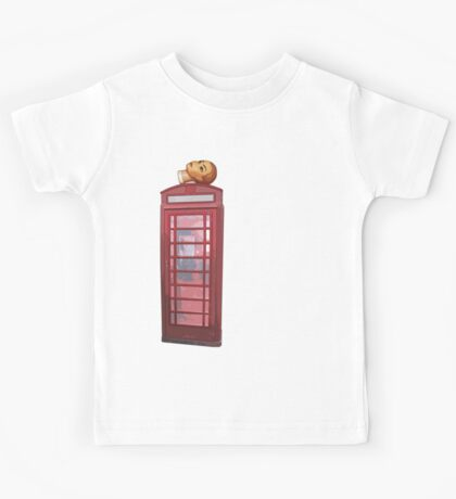 head on the phone Kids Tee