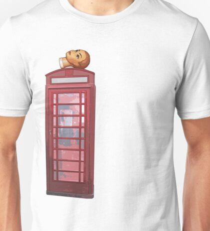 head on the phone Unisex T-Shirt