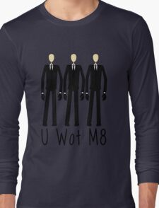 U Wot Slenderman Long Sleeve T-Shirt