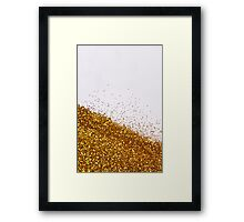 Glitter Is My Favorite Color II (NOT REAL GLITTER - A photograph) Framed Print