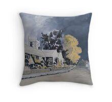 Plague Cottages  Throw Pillow