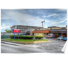 Construction of the new building and Emergency at The Princess Margaret Hospital (PMH) in Nassau, The Bahamas Poster