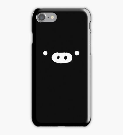 Monokuro Boo - Black iPhone Case/Skin