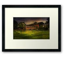 """""""The Old Mill"""" Framed Print"""