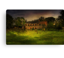 """The Old Mill"" Canvas Print"