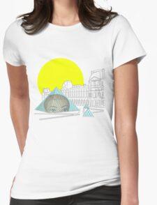 head of the art scene  Womens Fitted T-Shirt