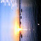 Bay view sunset by keyweegirlie