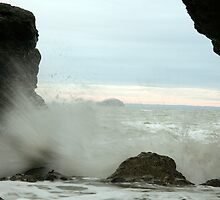 Seaspray Caves by Amy-Dawn
