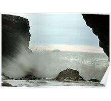 Seaspray Caves Poster