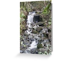 Cobbled Falls Greeting Card