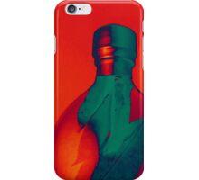 Fiery Orange Oil Bottle iPhone Case/Skin