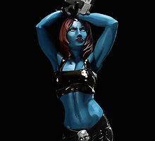 Mystique - Marvel Villain Series by ericvasquez84