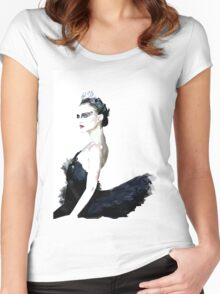 Black Swan Women's Fitted Scoop T-Shirt