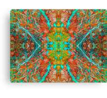 Enter The Labyrinth (Shattuckite) Canvas Print
