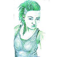 She Hulk Photographic Print