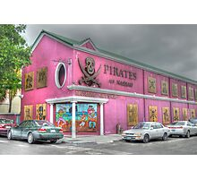 Pirates of Nassau Museum in Nassau, The Bahamas Photographic Print