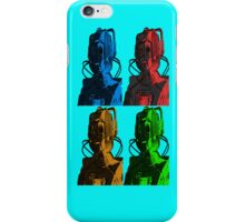 Old Skool Cybermen iPhone Case/Skin