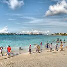 The Beach at Arawak Cay in Nassau, The Bahamas by 242Digital