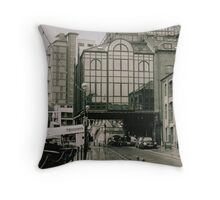 Urban Waterfront Throw Pillow