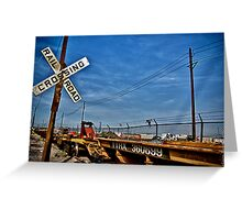 The Crossing of TTRX 360699 Greeting Card