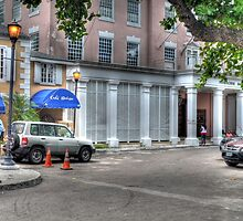 Cafe Matisse & Ansbacher House in Downtown Nassau, The Bahamas by Jeremy Lavender Photography