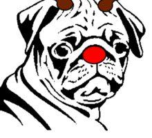 Merry Pugmas Sticker