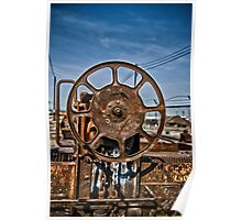 Heavy Duty Reel Poster