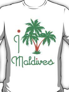 I LOVE MALDIVES T-shirt T-Shirt