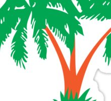 I LOVE MALDIVES T-shirt Sticker
