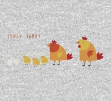 Lovely Family One Piece - Long Sleeve