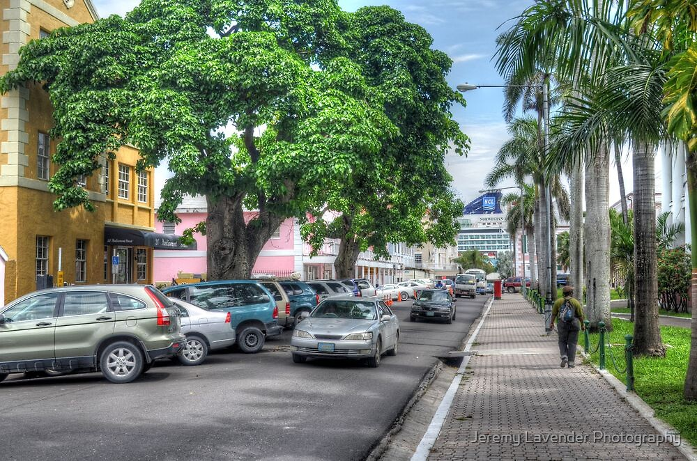 Parliament Street in Nassau, The Bahamas by Jeremy Lavender Photography