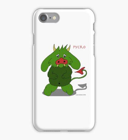 Pycro 1 iPhone Case/Skin