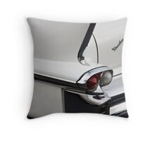 1958 Fin Throw Pillow