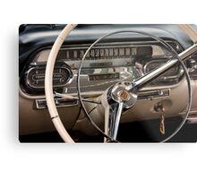 1958 Cadillac Dash Metal Print