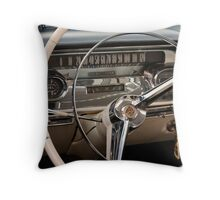 1958 Cadillac Dash Throw Pillow