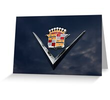 Cadillac Crest Greeting Card