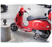 red scooter Poster