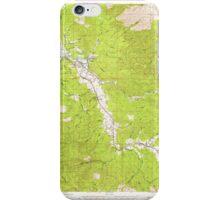 USGS Topo Map Washington State WA Raymond 243384 1955 62500 iPhone Case/Skin