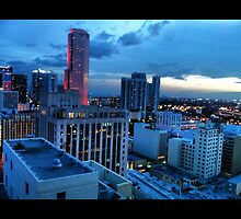 Downtown Miami by LoveJess