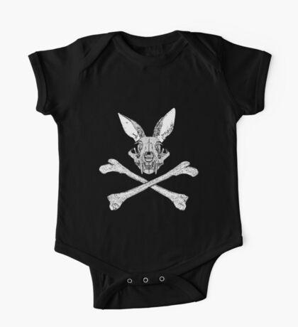 bunny cross bones One Piece - Short Sleeve
