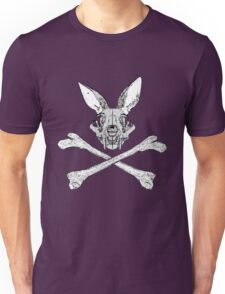 bunny cross bones Unisex T-Shirt