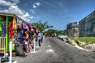 Tourists at Fort Fincastle in Nassau, The Bahamas by Jeremy Lavender Photography