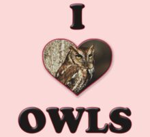 I Love Owls by tappers24
